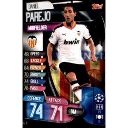 Daniel Parejo Valencia VAL 8 Match Attax Champions 2019-20