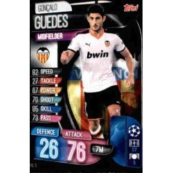Gonçalo Guedes Valencia VAL 10 Match Attax Champions 2019-20