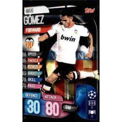 Maxi Gómez Valencia VAL 11 Match Attax Champions 2019-20