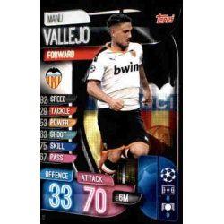 Manu Vallejo Valencia VAL 12 Match Attax Champions 2019-20