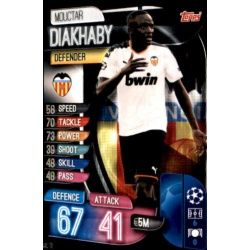 Mouctar Diakhaby Valencia VAL 13 Match Attax Champions 2019-20