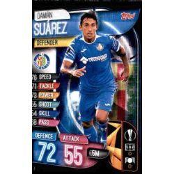 Damián Suárez Getafe GET 3 Match Attax Champions 2019-20