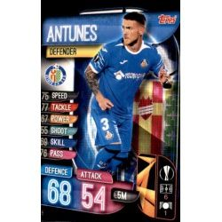 Antunes Getafe GET 5 Match Attax Champions 2019-20
