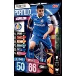 Francisco Portillo Getafe GET 10 Match Attax Champions 2019-20