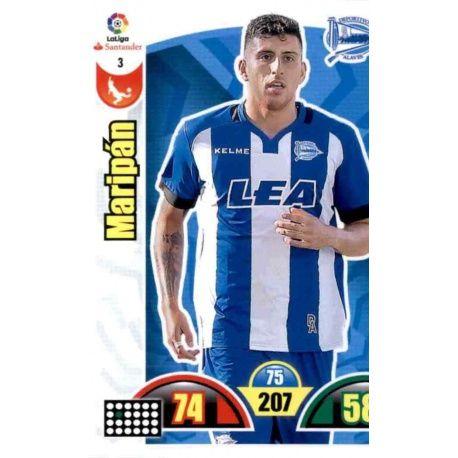 Maripán Alavés 3 Cards Básicas 2017-18