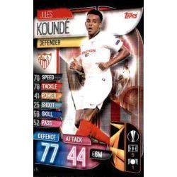 Jules Koundé Sevilla SEV 5 Match Attax Champions 2019-20