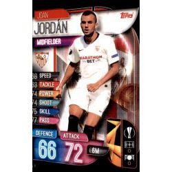 Joan Jordán Sevilla SEV 6 Match Attax Champions 2019-20