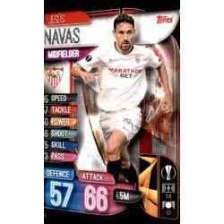 Jesús Navas Sevilla SEV 8 Match Attax Champions 2019-20