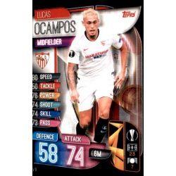 Lucas Ocampo Sevilla SEV 9 Match Attax Champions 2019-20