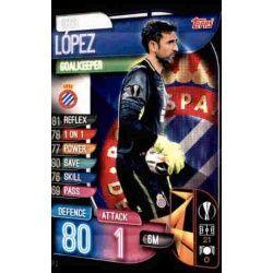 Diego López Espanyol ESP 2 Match Attax Champions 2019-20