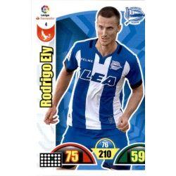 Rodrigo Ely Alavés 4 Cards Básicas 2017-18