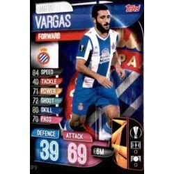 Matias Vargas Espanyol ESP 10 Match Attax Champions 2019-20