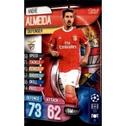 André Almeiada SL Benfica BEN 3 Match Attax Champions 2019-20