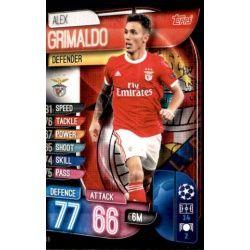 Alex Grimaldo SL Benfica BEN 6 Match Attax Champions 2019-20