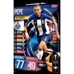 Pepe FC Porto POR 4 Match Attax Champions 2019-20