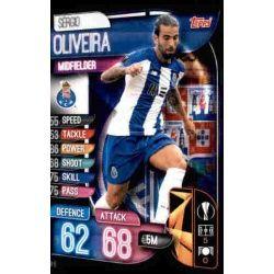 Sérgio Oliveira FC Porto POR 6 Match Attax Champions 2019-20