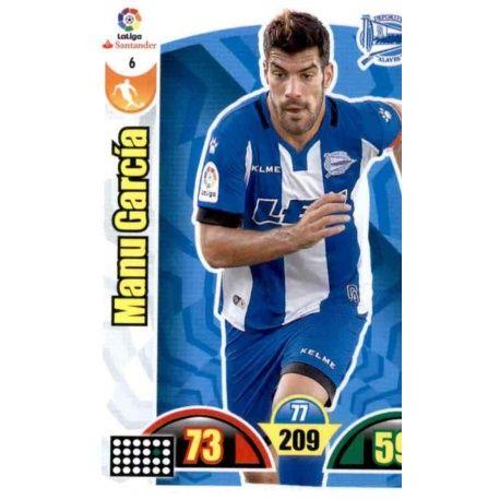 Manu García Alavés 6 Cards Básicas 2017-18