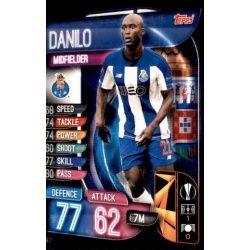 Danilo FC Porto POR 7 Match Attax Champions 2019-20