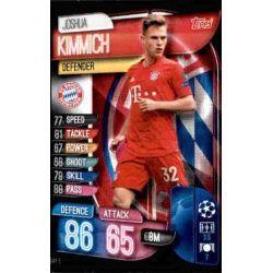 Joshua Kimmich Bayern Munich BAY 5 Match Attax Champions 2019-20