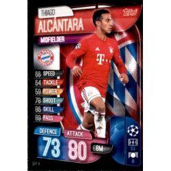 Thiago Alcantara Bayern Munich BAY 9 Match Attax Champions 2019-20