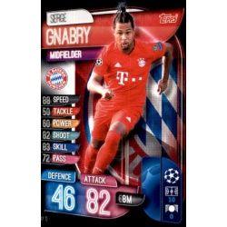 Sergi Gnabry Bayern Munich BAY 10 Match Attax Champions 2019-20