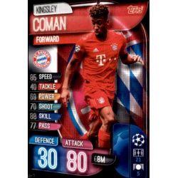 Kingsley Coman Bayern Munich BAY 11 Match Attax Champions 2019-20