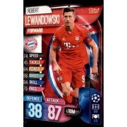 Robert Lewandoski Bayern Munich BAY 12 Match Attax Champions 2019-20