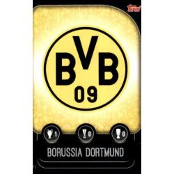 Escudo Borussia Dortmund DOR 1 Match Attax Champions 2019-20