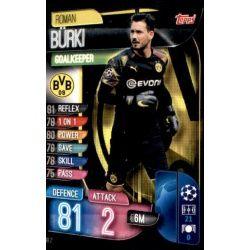 Roman Bürki Borussia Dortmund DOR 2 Match Attax Champions 2019-20