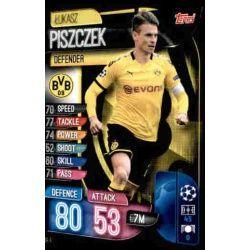 Lukasz Piszczek Borussia Dortmund DOR 4 Match Attax Champions 2019-20