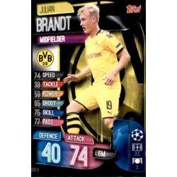 Julian Brandt Borussia Dortmund DOR 8 Match Attax Champions 2019-20