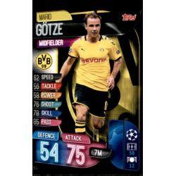 Mario Gotze Borussia Dortmund DOR 9 Match Attax Champions 2019-20