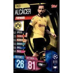 Paco Alcácer Borussia Dortmund DOR 11 Match Attax Champions 2019-20