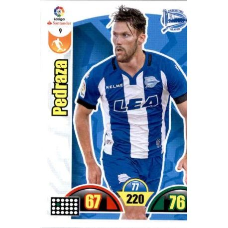 Pedraza Alavés 9 Cards Básicas 2017-18