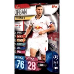 Willi Orban RB Leipzig LEI 5 Match Attax Champions 2019-20
