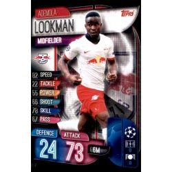 Ademola Lookman RB Leipzig LEI 7 Match Attax Champions 2019-20