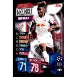 Christopher Nkunku RB Leipzig LEI 8 Match Attax Champions 2019-20