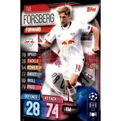 Emil Forsberg RB Leipzig LEI 10 Match Attax Champions 2019-20