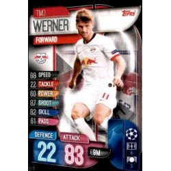 Timo Werner RB Leipzig LEI 11 Match Attax Champions 2019-20