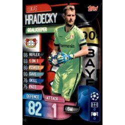 Lukas Hradecky Bayer Leverkusen LEV 2 Match Attax Champions 2019-20