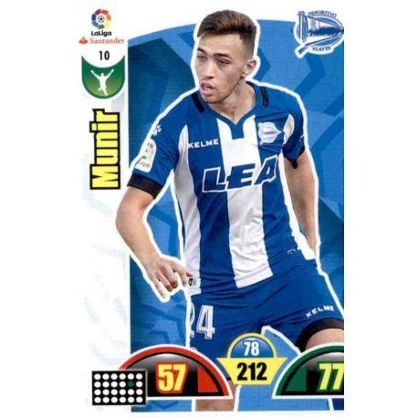 Munir Alavés 10 Cards Básicas 2017-18