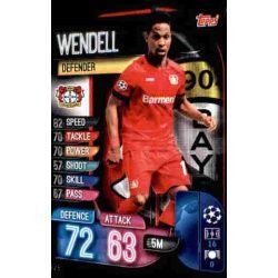 Wendell Bayer Leverkusen LEV 5 Match Attax Champions 2019-20