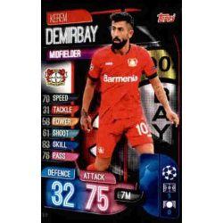Kerem Demirbay Bayer Leverkusen LEV 8 Match Attax Champions 2019-20