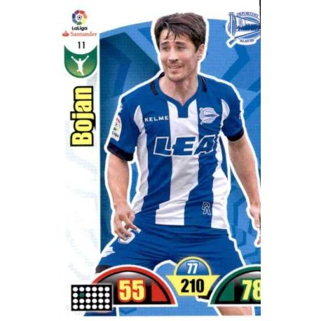 Bojan Alavés 11 Cards Básicas 2017-18