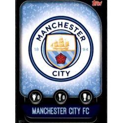 Escudo Manchester City MCY 1 Match Attax Champions 2019-20