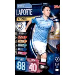 Aymeric Laporte Manchester City MCY 3 Match Attax Champions 2019-20