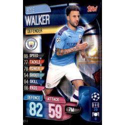 Kyle Walker Manchester City MCY 4 Match Attax Champions 2019-20