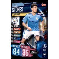 John Stones Manchester City MCY 5 Match Attax Champions 2019-20