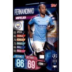 Fernandinho Manchester City MCY 7 Match Attax Champions 2019-20