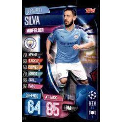 Bernardo Silva Manchester City MCY 8 Match Attax Champions 2019-20